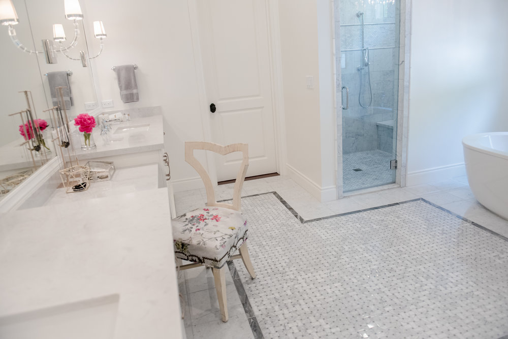 71+Master+Bath+Carrara+Marble+Vanity+Floral+White+Gray+Mirrors+Luxe+Scottsdale.jpg