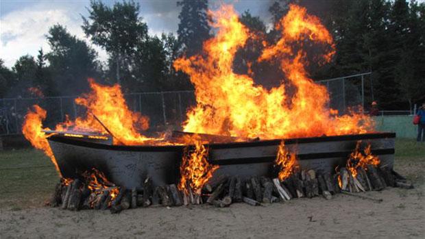 Boat Burn