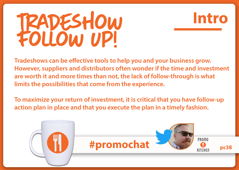 EVERY WEDNESDAY AT 3PM ET / NOON PT, PROMOKITCHEN HOSTS A NEW TOPIC ON  #PROMOCHAT . PLEASE JOIN US TO SHARE YOUR KNOWLEDGE!  BELOW YOU'LL FIND THE ARCHIVES FROM THE  #PROMOCHAT ON 12/20/17. YOU CAN FIND ALL OF THE #PROMOCHAT TRANSCRIPTS  HERE .