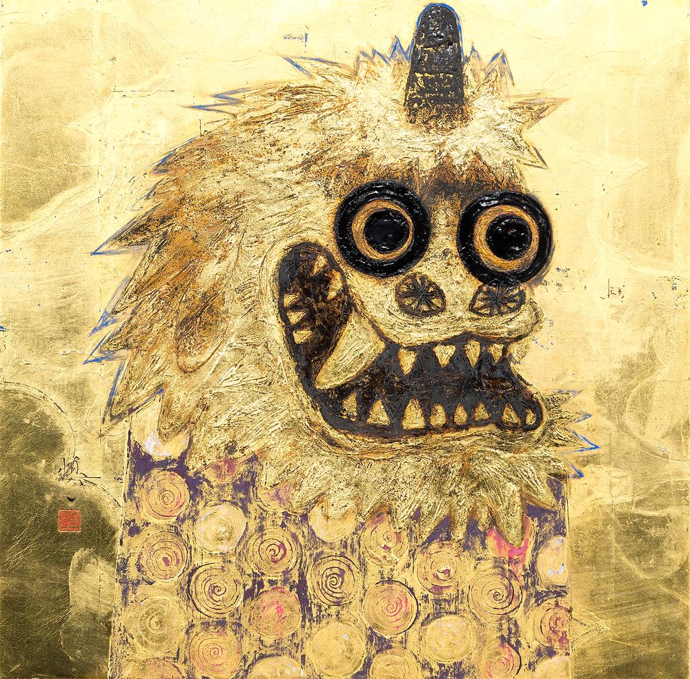 Higan Shishi Zu (Image of a Equinoctial Lion)