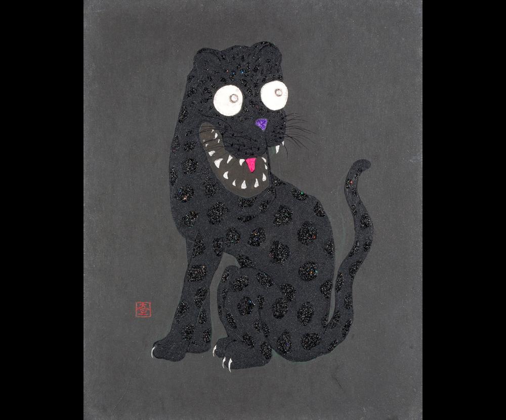 Kurotora Zu (Image of a Black Tiger)