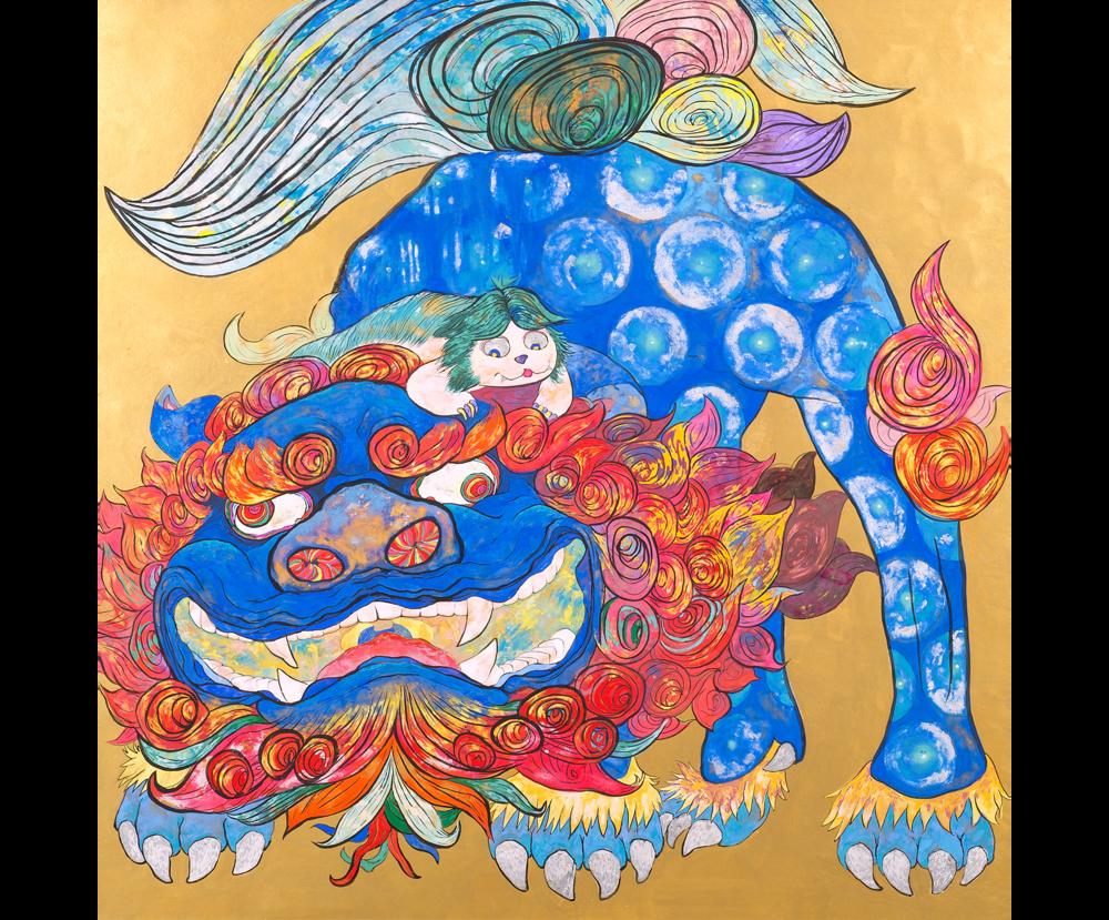 Kara Shishi Zu (Image of a Lion)