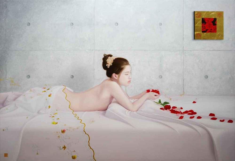 君と薔薇圖と余白の創造