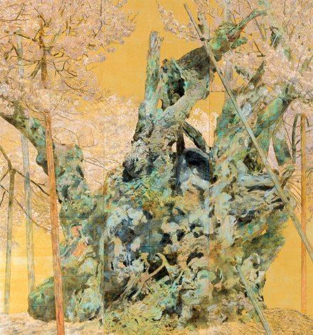 樹魂 162 x 152 cm