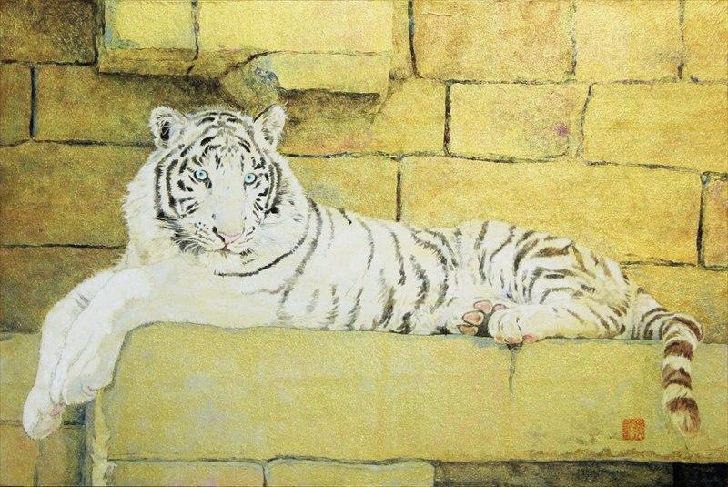 Koh Shimizu_White tiger