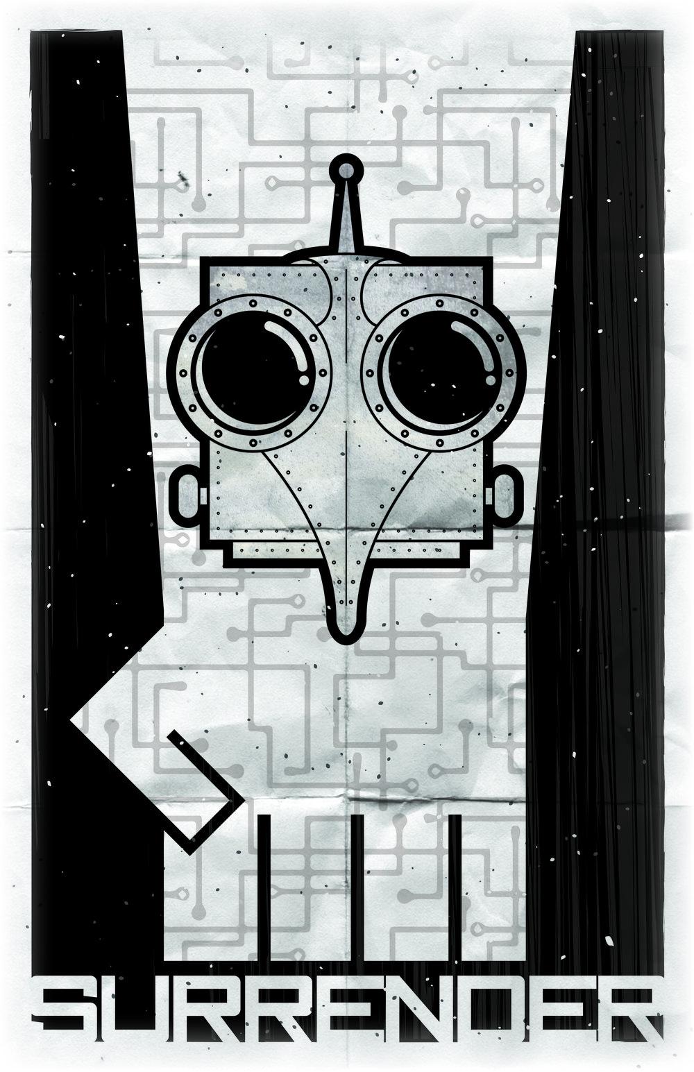 Crobot Propaganda Poster