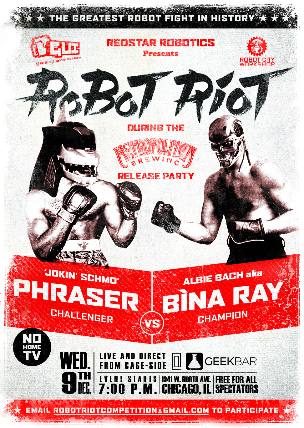 Robot Riot poster #1