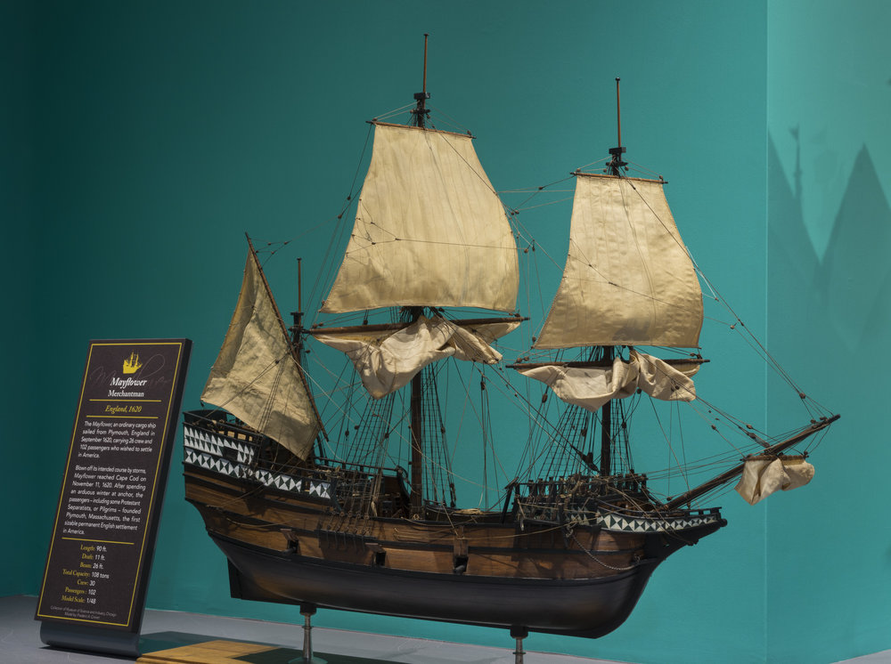 Ships Gallery - Mayflower