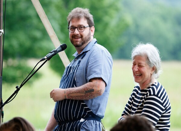 I bet you didn't know @jbschef had another talent, but he's an amazing public speaker! 😜👨🏻‍🍳 #stormkingsolstice #FBF