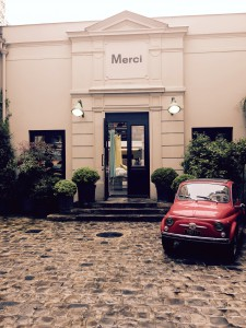 1. Chic department store and fabulous restaurant downstairs. A favorite in the Marais! Lunch and shopping here after...