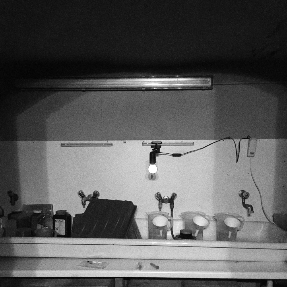 You might wonder how my darkroom is related to setting easy goals... I'm really good at overestimating how much work I can get done in the darkroom in one day. Not achieving my goals for the day is seriously interfering with my ability to enjoy the darkroom work.