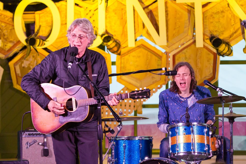 Photo of Bill and Joel Plaskett by Bob Ullrich