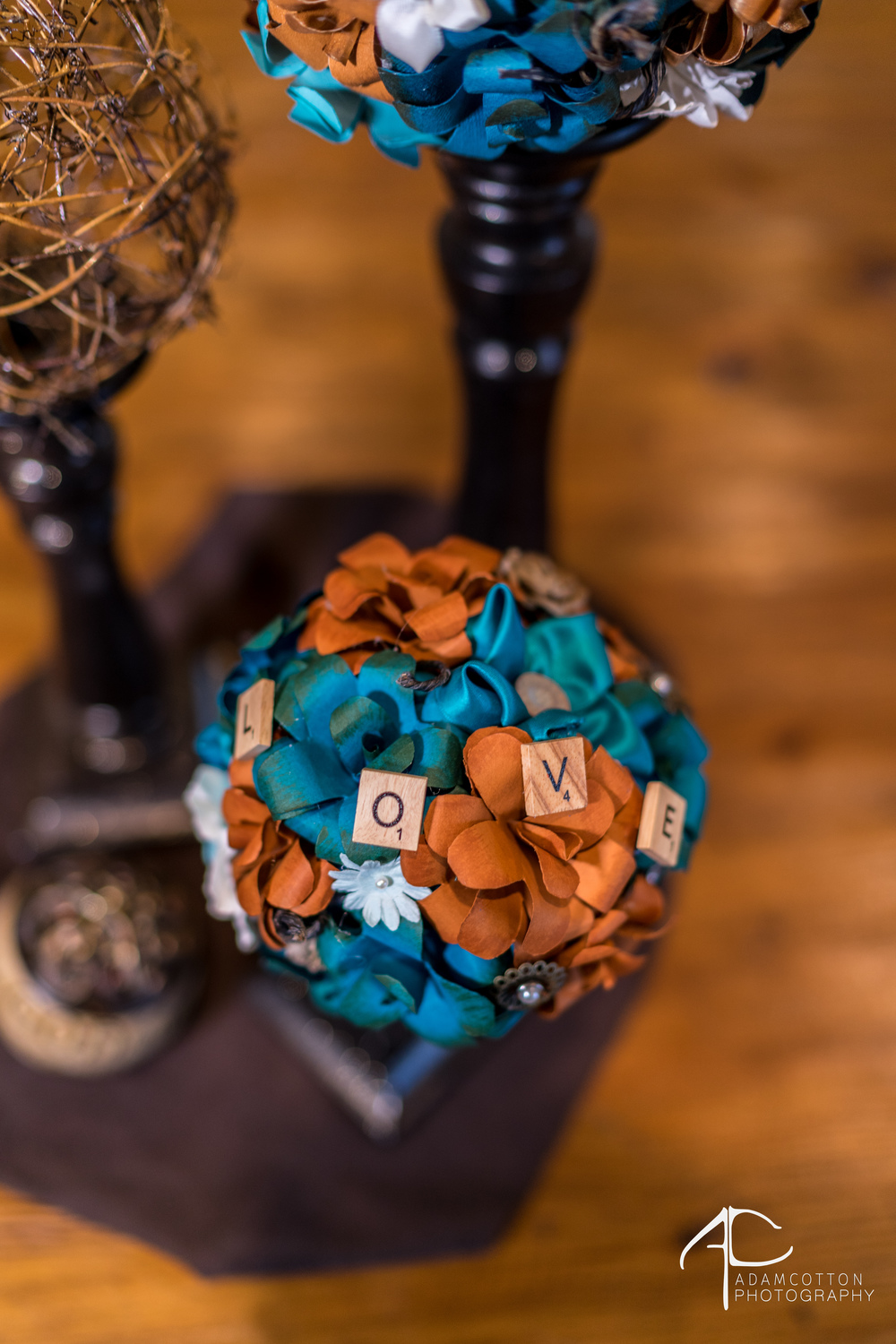 image wedding decorations fake flowers with scrabble pieces pensacola wedding