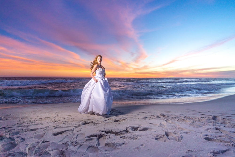 sunset-bridal-pensacola-beach