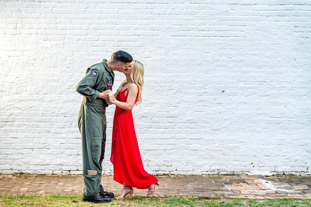 Rachel & Kevin - Downtown Pensacola/ Shoreline Park