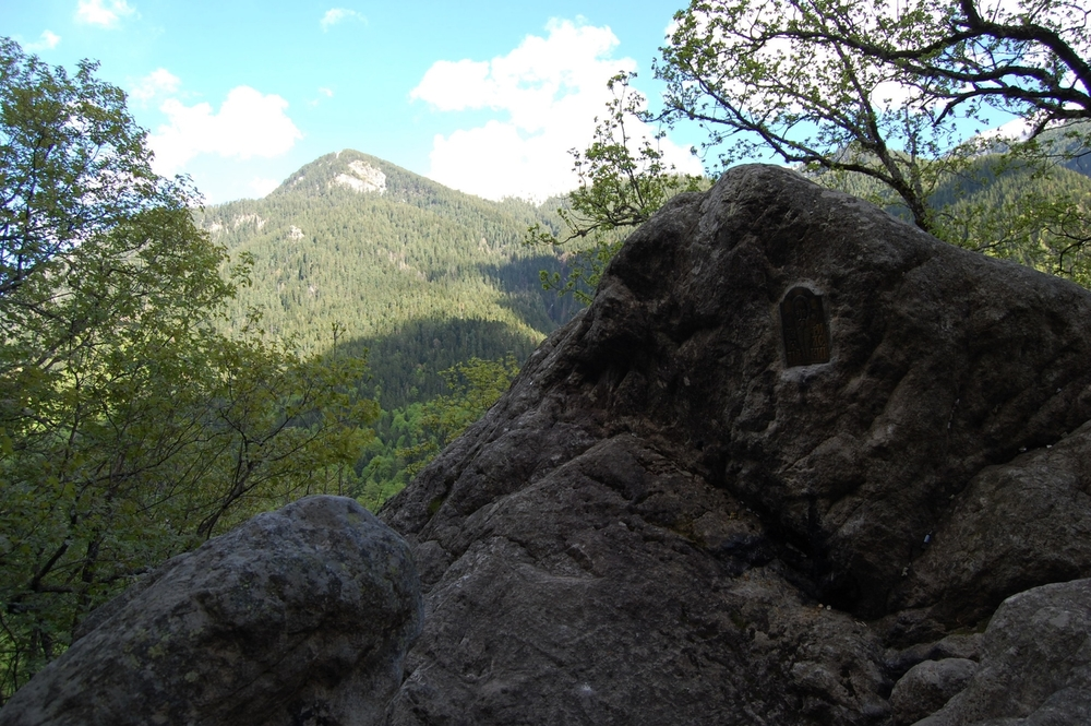 John of Rila's prayer rock.
