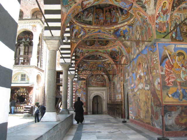 Church of the Nativity, 1834, Rila Monastery, Bulgaria.   Photo © Evelyn Weliver