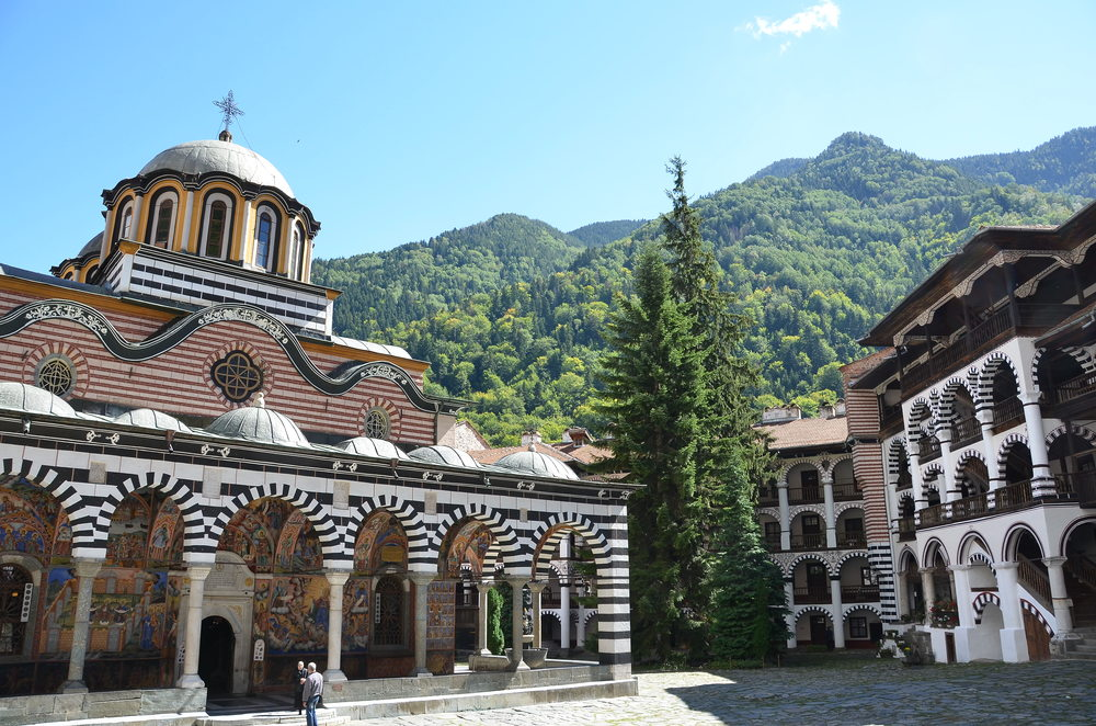 Church of the Nativity, Rila Monastery, Bulgaria.  ©Del Weliver