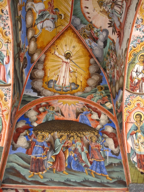 Church of the Nativity, Rila Monastery, Bulgaria  © Evelyn Weliver
