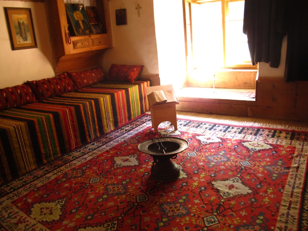 A Monk's room.