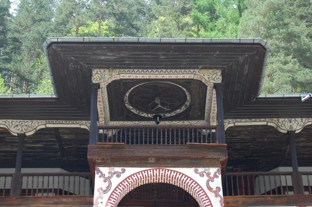 Chapel roof