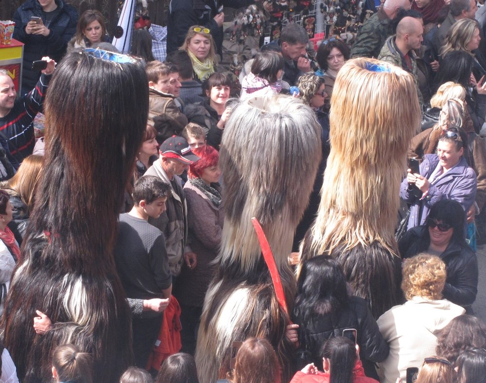 IMG_3014 Kukeri Festival (Mummers'), Shiroka Laka, Bulgaria © Evelyn Weliver