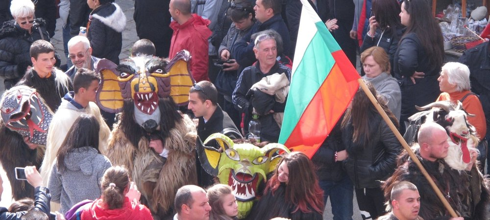 IMG_3039 Kukeri Festival (Mummers'), Shiroka Laka, Bulgaria  © Evelyn Weliver