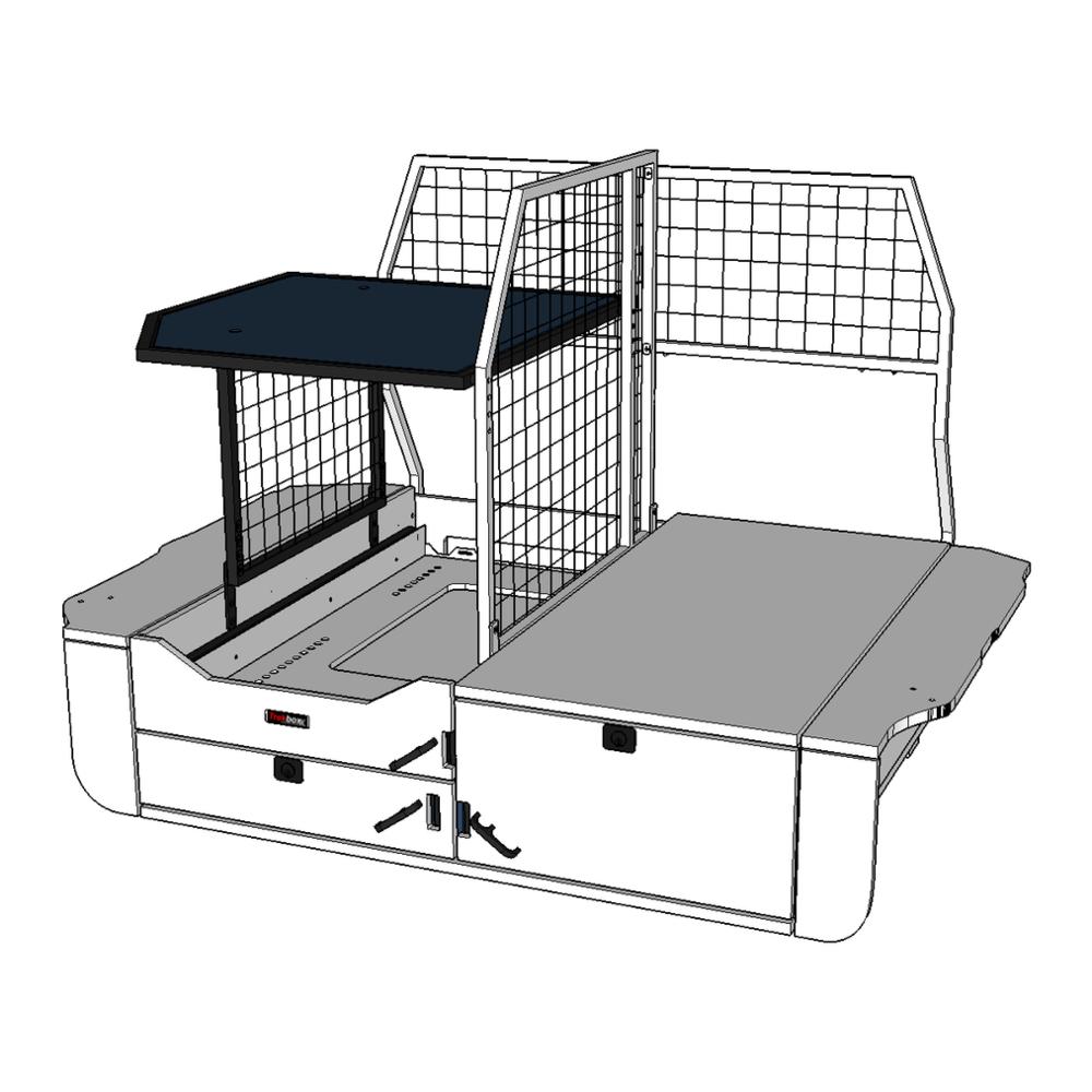 Shelf/Fridge Barrier shown in color