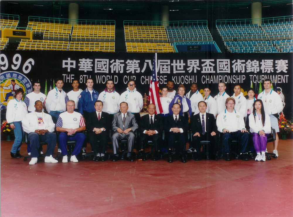 United States Team - World Kuoshu Tournament 1996 in Taiwan