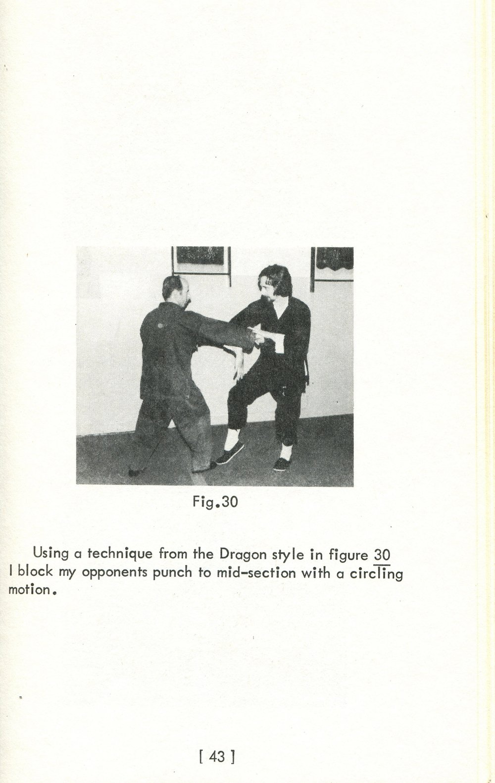 James W. McNeil pictured with his true Xingyi Teacher, John L. Price, from John's book on Xingyi published in 1977.