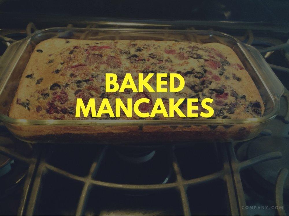 Baked Mancakes