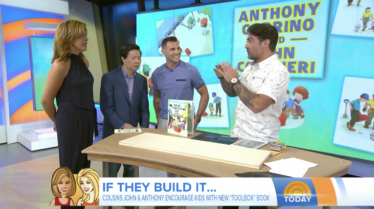 Watch us introduce our new book on the Today Show!