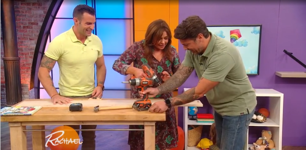 Check out our latest appearance on Rachel Ray where we talk about the book and some quick tips for decorating your home. (September 12, 2018)
