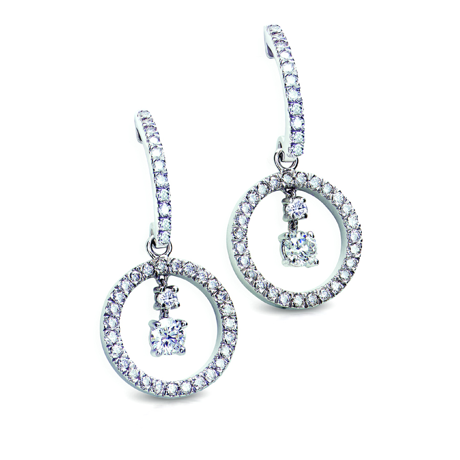 DIAMOND DEBELLIO EARRINGS