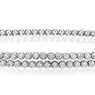 Our White Diamond caviar setting. #flexbracelets #wishlist  Also available in:  Black Diamonds, Pink & Blue Sapphires, Orange & Yellow Topaz. Link in profile to see the flex! . . #srwnyc #leoncohen #makeitexquisite #theartofengagement  #finejewelry #highjewelry #diamonds #18k #whitegold  #showyourcouture #couturedailydose #jotd #jewelsofinstagram #jewelrylovers #jewelryaddicts  #futureheirlooms #eyecandy #stacksarethenewblack #layering #armparty #twist #bracelet #musthave #moreismore