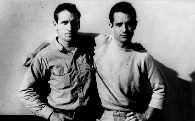 Neal Cassady and Jack Kerouac in 1952