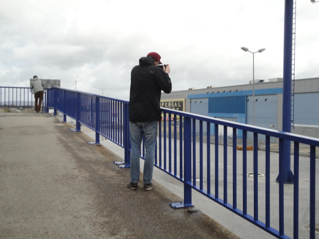 Photographing in Spain for Nothings Happening, 2012