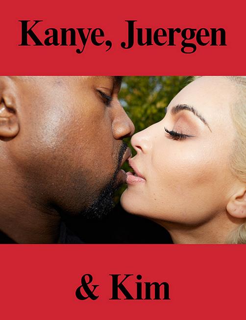 Kanye, Jeurgen & Kim, published in 2015.