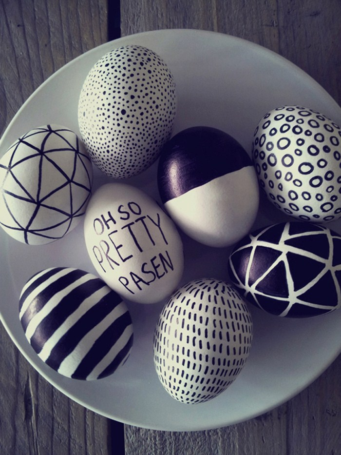 Designed Easter eggs