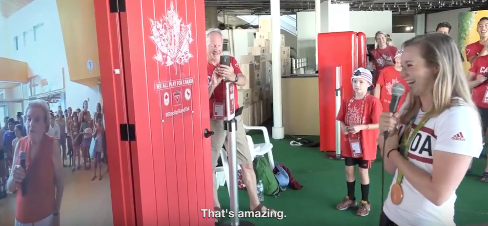 Throughout the 2016 Olympic Games the Canadian Tire Red Door to Rio gave Canadians the opportunity to engage with athletes while the Olympians had the ... & Work - Canadian Tire Red Door To Rio u2014 wondermakr