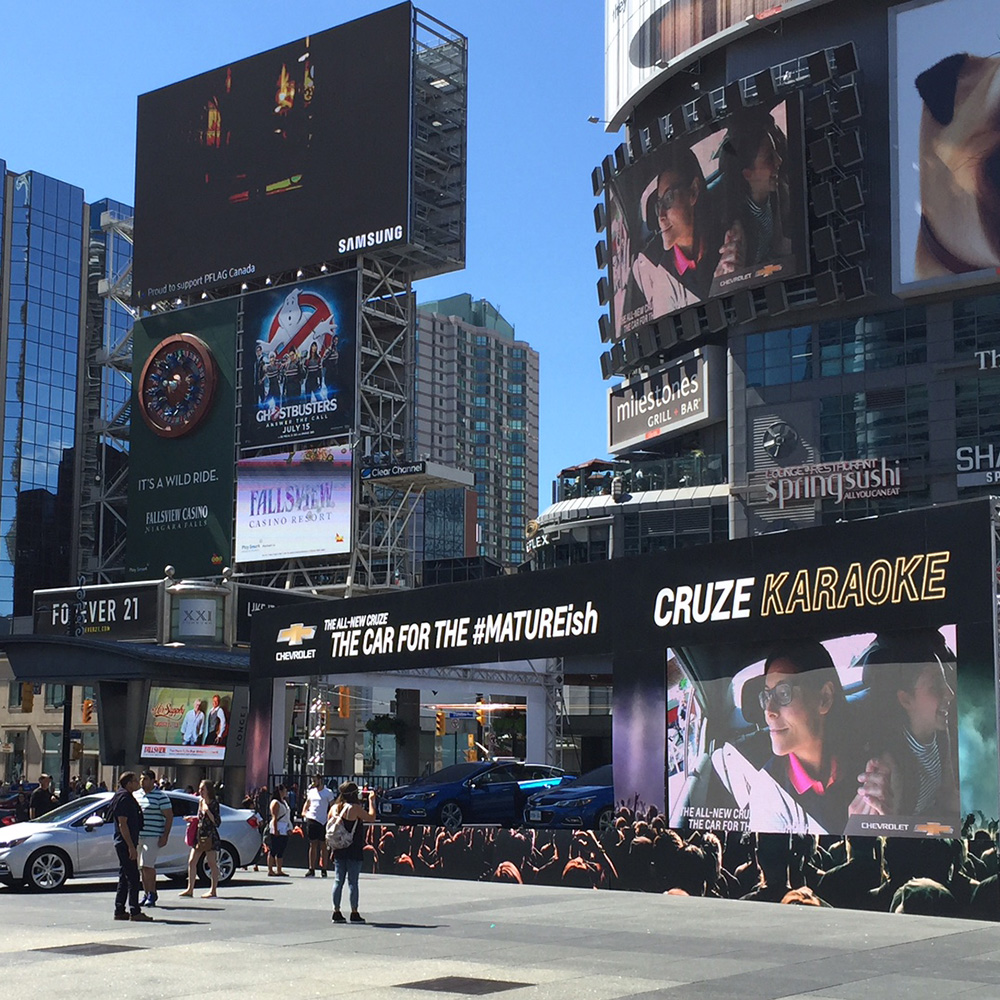 Interactive Karaoke Experience<strong>Chevy</strong>