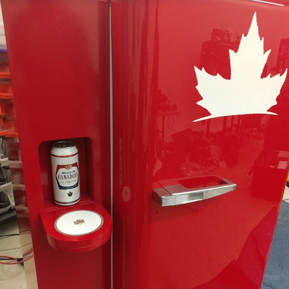 Molson Canadian Cheers Fridge<strong>Molson Coors</strong>