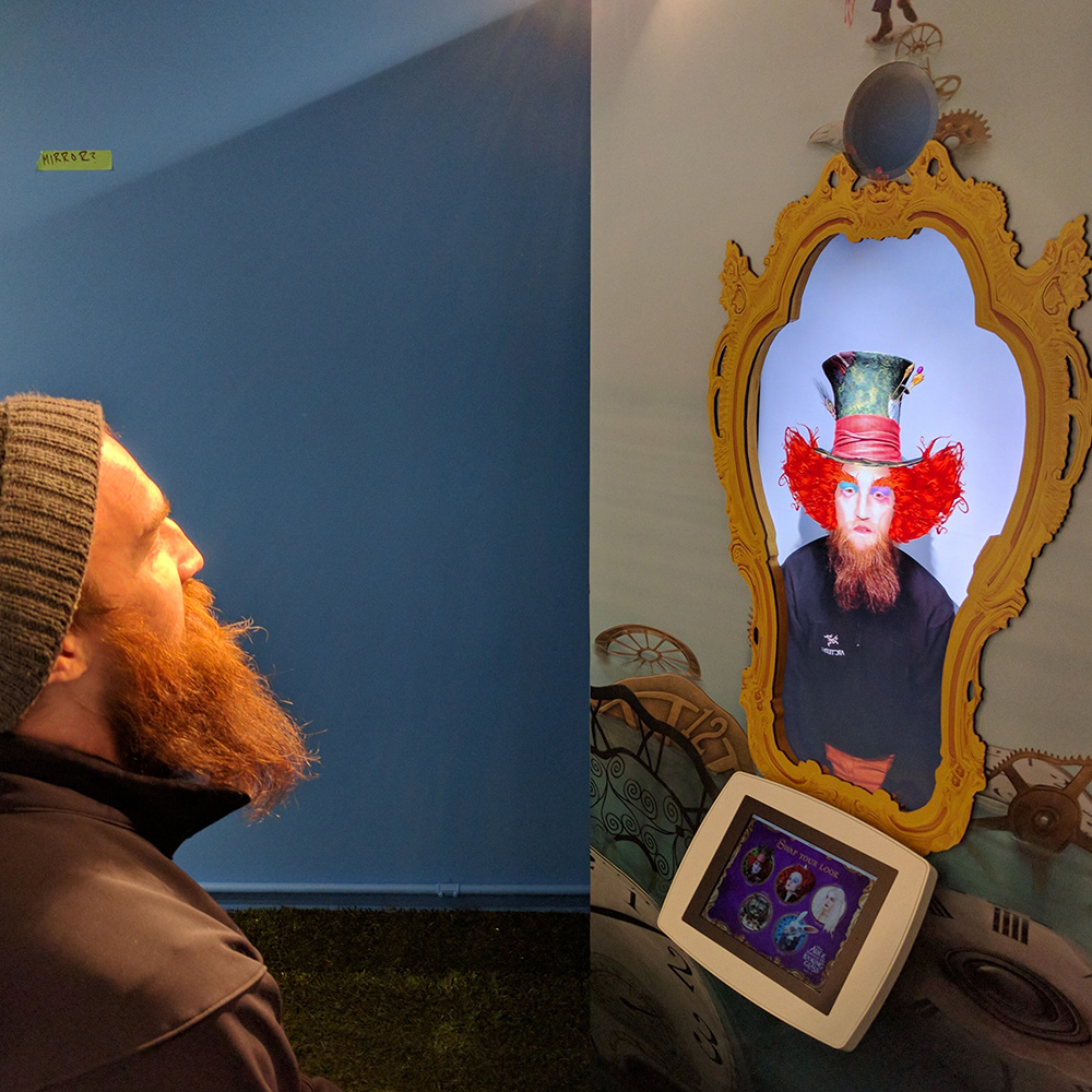 Augmented Reality Booth<strong>Disney</strong>