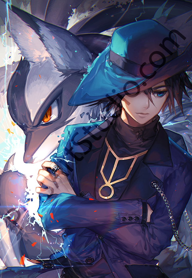 Pokemon: Riley & Lucario