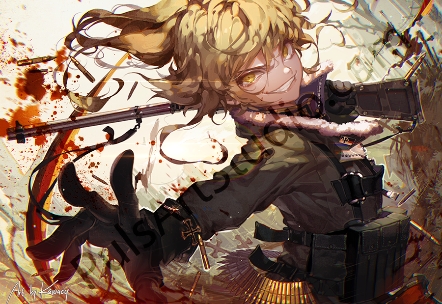 Youjo Senki: Rot in Hell (avail. as mat)