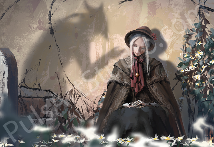 Bloodborne: Plain Doll (avail. as mat)
