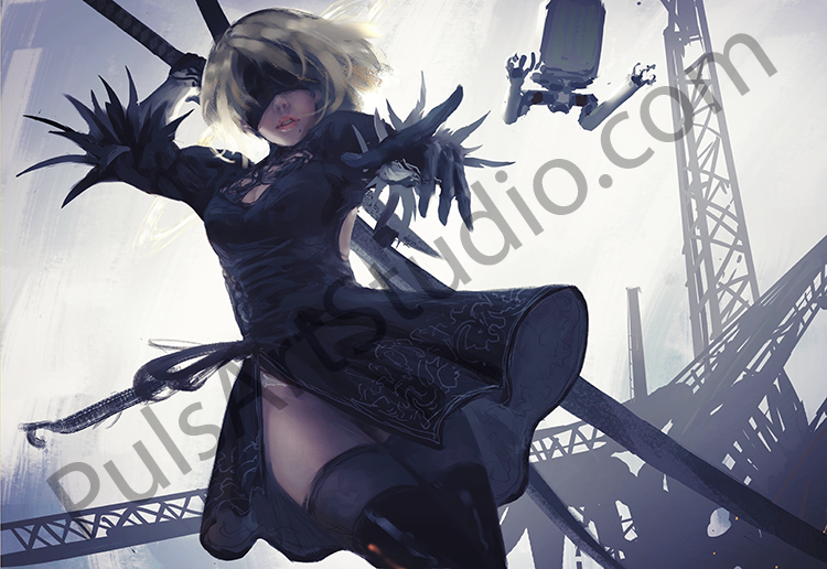 Nier Automata: 2B (avail. as mat)