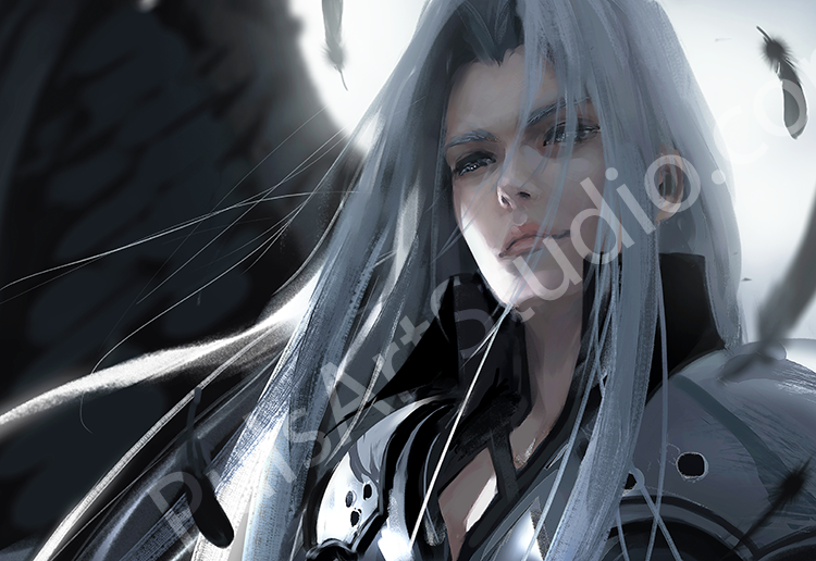 FFVII: Sephiroth (avail. as mat)