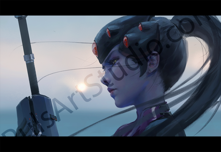 Overwatch: Widowmaker (avail. as mat)