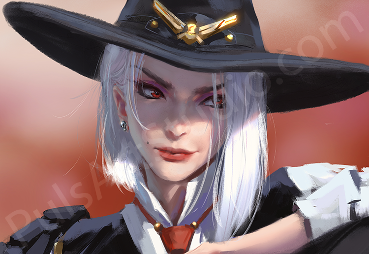 Overwatch: Ashe (avail. as mat)